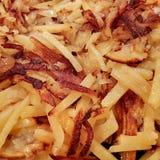 τηγανισμένες φέτες πατατών Στοκ εικόνα με δικαίωμα ελεύθερης χρήσης