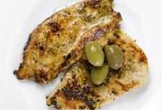 τηγανισμένη κοτόπουλο μπ&rho Στοκ εικόνες με δικαίωμα ελεύθερης χρήσης