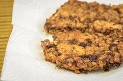τηγανισμένη μπριζόλα Στοκ εικόνα με δικαίωμα ελεύθερης χρήσης