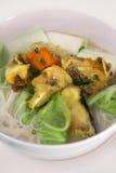 Τηγανισμένη σούπα νουντλς ρυζιού ψαριών Στοκ φωτογραφία με δικαίωμα ελεύθερης χρήσης