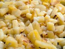 τηγανισμένη τρόφιμα πατάτα στοκ φωτογραφίες