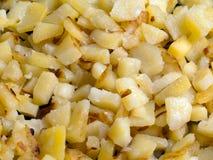 τηγανισμένη τρόφιμα πατάτα στοκ εικόνα