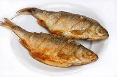 τηγανισμένος ψάρια ποταμό&sigmaf Στοκ Εικόνα
