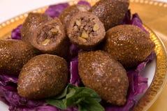 τηγανισμένος kubbeh Στοκ φωτογραφία με δικαίωμα ελεύθερης χρήσης
