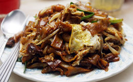 τηγανισμένος kueh teow Στοκ Εικόνες
