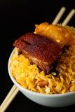 τηγανισμένο ασιατικό ρύζι Στοκ Εικόνα