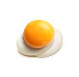 Τηγανισμένο αυγό που απομονώνεται Στοκ Εικόνες