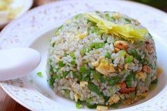 τηγανισμένο αυγό ρύζι Στοκ φωτογραφίες με δικαίωμα ελεύθερης χρήσης