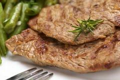 τηγανισμένο βόειο κρέας κ&r Στοκ Εικόνα