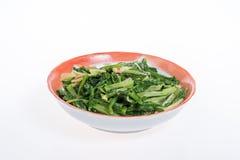 Τηγανισμένο ινδικό μαρούλι (Lactuca sativa Linn) Στοκ Εικόνες