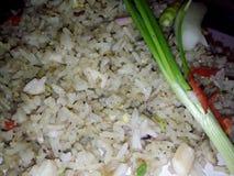 τηγανισμένο ινδονησιακό ρύ Στοκ Εικόνα