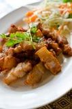 τηγανισμένο κοιλιά χοιρινό κρέας Στοκ Εικόνα