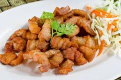 τηγανισμένο κοιλιά χοιρινό κρέας Στοκ φωτογραφία με δικαίωμα ελεύθερης χρήσης