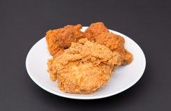 Τηγανισμένο κοτόπουλο επιπλέον τριζάτο Στοκ εικόνες με δικαίωμα ελεύθερης χρήσης