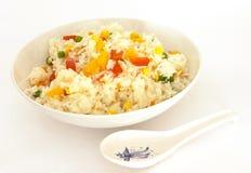 τηγανισμένο λαχανικό ρυζ&iot Στοκ Φωτογραφίες