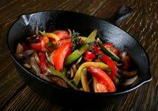 τηγανισμένο λαχανικό Στοκ Εικόνες