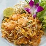 Τηγανισμένο νουντλς Ταϊλανδός Στοκ Εικόνα