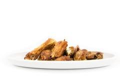 Τηγανισμένο πράξη κοτόπουλο Στοκ Εικόνες