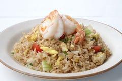 τηγανισμένο ρύζι γαρίδων στοκ εικόνες με δικαίωμα ελεύθερης χρήσης