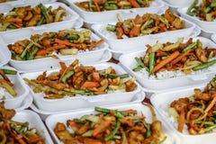 Τηγανισμένο ρύζι κοτόπουλου Kunyit Στοκ φωτογραφίες με δικαίωμα ελεύθερης χρήσης