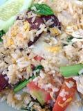 Τηγανισμένο ρύζι με το λαχανικό Στοκ φωτογραφίες με δικαίωμα ελεύθερης χρήσης