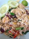 Τηγανισμένο ρύζι με το λαχανικό Στοκ εικόνα με δικαίωμα ελεύθερης χρήσης