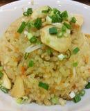 τηγανισμένο ρύζι σκόρδου Στοκ εικόνες με δικαίωμα ελεύθερης χρήσης