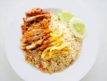 Τηγανισμένο ρύζι Ταϊλάνδη Style.No.3 στοκ φωτογραφίες με δικαίωμα ελεύθερης χρήσης