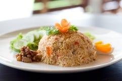 τηγανισμένο ρύζι Ταϊλανδός στοκ εικόνα