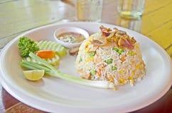 τηγανισμένο ρύζι χοιρινού &kapp Στοκ Φωτογραφίες