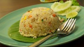 Τηγανισμένο ρύζι. Στοκ Εικόνες