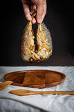 τηγανισμένο σκουμπρί Στοκ φωτογραφία με δικαίωμα ελεύθερης χρήσης