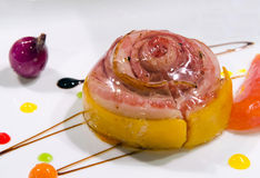 Τηγανισμένο τηγάνι στήθος παπιών Στοκ εικόνα με δικαίωμα ελεύθερης χρήσης