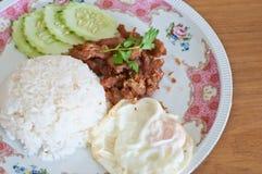 τηγανισμένο χοιρινό κρέας π Στοκ Φωτογραφία