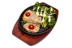 Τηγανισμένο χοιρινό κρέας Στοκ φωτογραφίες με δικαίωμα ελεύθερης χρήσης
