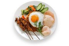 τηγανισμένο goreng ινδονησιακό στοκ φωτογραφίες