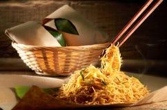 τηγανισμένο hoon mee noodle Στοκ φωτογραφία με δικαίωμα ελεύθερης χρήσης