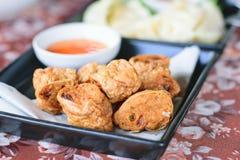 Τηγανισμένο Jock κοτόπουλο για ένα πρόχειρο φαγητό στοκ εικόνες με δικαίωμα ελεύθερης χρήσης