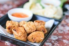 Τηγανισμένο Jock κοτόπουλο για ένα πρόχειρο φαγητό στοκ φωτογραφίες