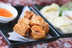Τηγανισμένο Jock κοτόπουλο για ένα πρόχειρο φαγητό στοκ εικόνες