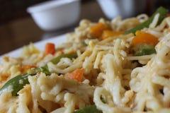τηγανισμένο noodle ανακατώνει Στοκ Εικόνα