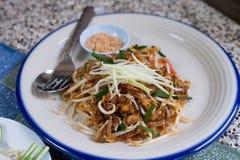τηγανισμένο noodle Ταϊλανδός Στοκ φωτογραφία με δικαίωμα ελεύθερης χρήσης