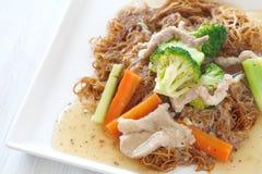 τηγανισμένο noodle Στοκ Εικόνες