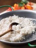 Τηγανισμένο Paella ρύζι Στοκ Φωτογραφίες