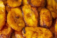 Τηγανισμένο plantains γεύμα στοκ φωτογραφίες με δικαίωμα ελεύθερης χρήσης