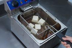 Τηγανισμένο tofu στοκ εικόνες με δικαίωμα ελεύθερης χρήσης