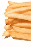 τηγανιτές πατάτες που απομονώνονται Στοκ εικόνες με δικαίωμα ελεύθερης χρήσης