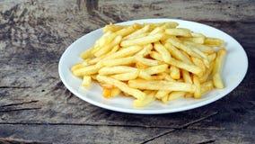 Τηγανιτές πατάτες, τσιπ ή τσιπ δάχτυλων Στοκ εικόνες με δικαίωμα ελεύθερης χρήσης
