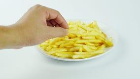 Τηγανιτές πατάτες, τσιπ ή τσιπ δάχτυλων Στοκ Φωτογραφία