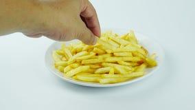 Τηγανιτές πατάτες, τσιπ ή τσιπ δάχτυλων Στοκ Φωτογραφίες